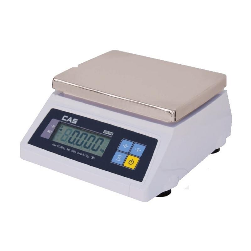 Waga CAS SW-1 PLUS WR02 do 2kg z legalizacją