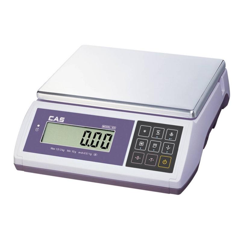 Waga CAS ED 15 do 15kg z legalizacją