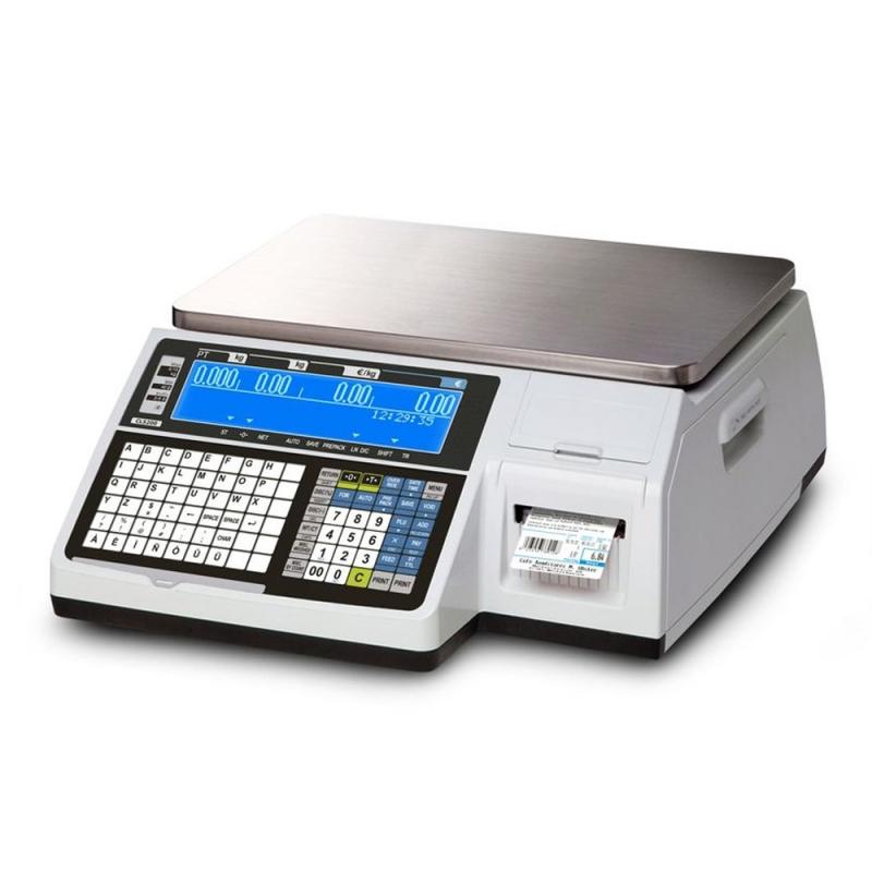 Waga elektroniczna CAS CL5200N 15B WIFI do 15 kg z legalizacją