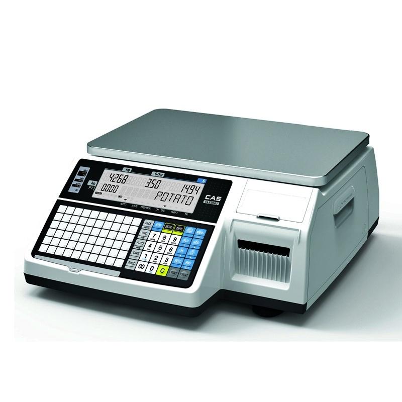 Waga drukująca etykiety CAS CL5200 JUNIOR B 15 z legalizacją