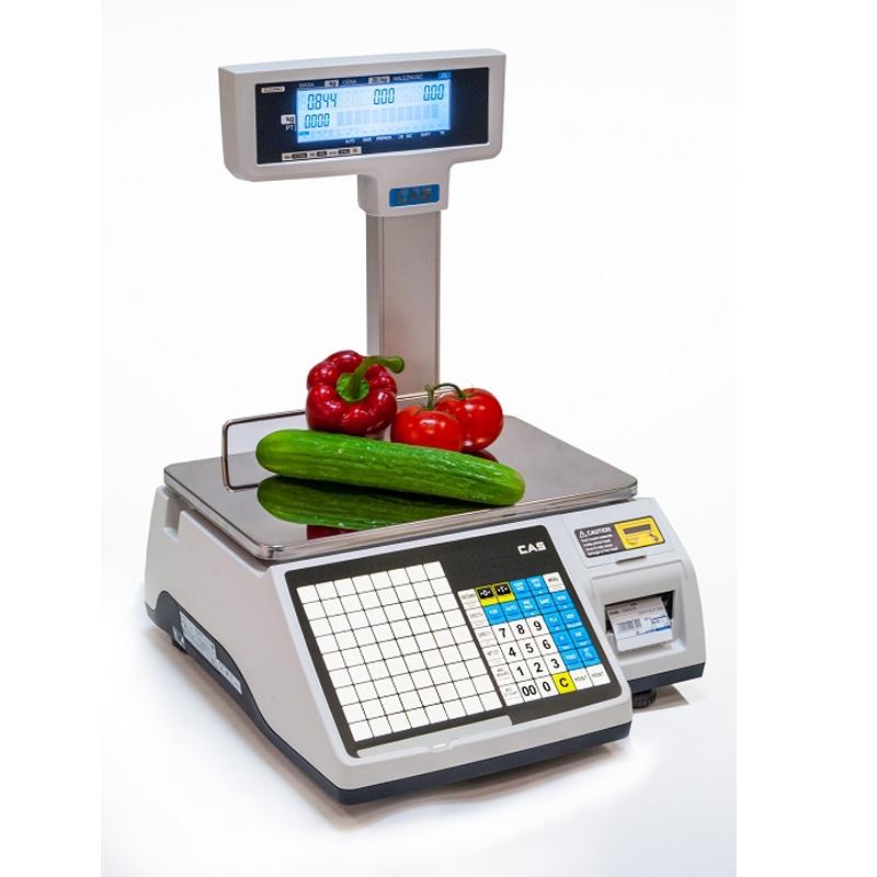 Waga drukująca etykiety CAS CL5200 JUNIOR P 15 WIFI z legalizacją