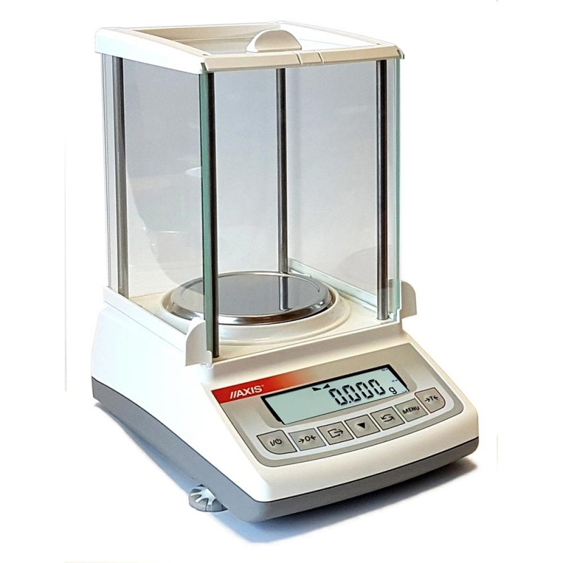 Waga laboratoryjna AXIS ATZ220 kompaktowa z zabudową