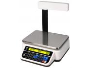 Waga kalkulacyjna DIGI DS-782 PR RS  zakres 6/15kg Z WYSIĘGNIKIEM  w białej obudowie